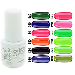 YeManNvYou®Sequins UV Color Gel Nail Polish No.73-84 (5ml, Assorted Colors)