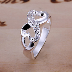 Ring Party Jewelry Alloy Silver Plated Women Statement Rings 1pc,6 7 8 9 10 Gold