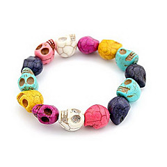 The New Burst Sell Personalized Color Skull Bracelet Fashion Bangle B10