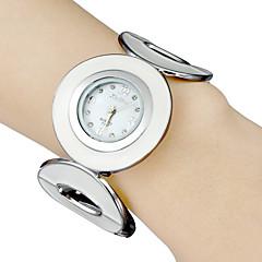 Mujer Reloj de Moda Reloj de Pulsera Reloj Pulsera Cuarzo Reloj Deportivo Banda Blanco Marca