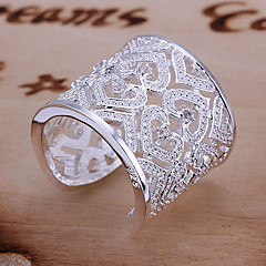Women's Shining Full Rhinestone Adjustable Ring