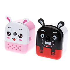 Cat Head Style Manual Pencil Sharpener (Random Color)