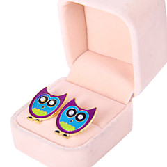 Earring Animal Shape / Owl Stud Earrings Jewelry Women Daily Alloy