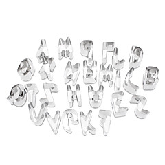 Alphabet Shaped Cake Cookie Biscuit Cutter Set