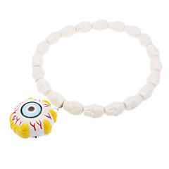 Colar Estilo globo ocular com LED para o Halloween