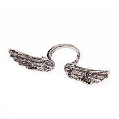 European And American Punk Retro Wave Of People Angel Wings Ring