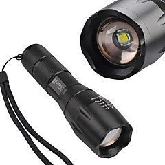 SingFire SF-721 5-Mode Cree XM-L T6 Zoom LED taskulamppu (800LM, 1x18650, musta)