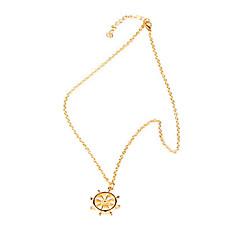 Korean jewelry new creative anchor rudder Pendants (random color)