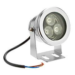 3W 210-240lm 6000K Cool White Light led árvíz fény (12V)