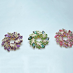 Accessories Corsage Crystal Brooch Pin Fashion Female Rhinestone