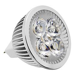 1 adet mr16 (gu5.3) 5w 500lm 3000k sıcak beyaz ışık led spot ampul (12v)