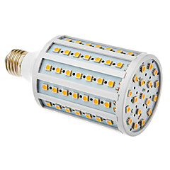 20w e26 / e27 led corn lys t 102 smd 5050 600-630 lm varm hvid AC 220-240 v