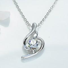 Mjuk Crystal Pendant Necklace (Assorted Color)