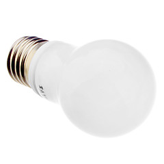 4W E26/E27 LED Globe Bulbs G45 12 SMD 3328 393 lm Warm White AC 220-240 V