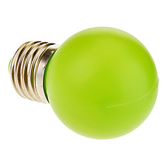 E26/E27 1 W 12 50 LM Green Globe Bulbs AC 220-240 V
