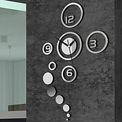 "40"" Creative Mirror Fashion Wall Clock"