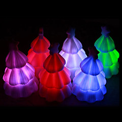 화려한 빛나는 크리스마스 트리 라이트 (무작위 색깔)
