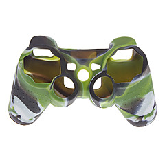 Funda de silicona para Sony Playstation 3 PS3 Controller (color de camuflaje)