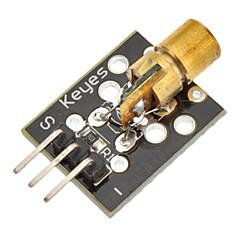 (Per arduino) Modulo laser a semiconduttore 650nm pcb 5v per il sistema di controllo della temperatura