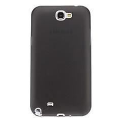 Ultratunn Gel Transparent Mjuk Back Cover Case för Samsung Galaxy Note2 N7100