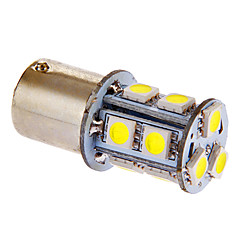 BA15S/1156 3W 13x5050SMD 117LM 6000-7000K Cool White Light LED-lamppu auton (DC 12V)