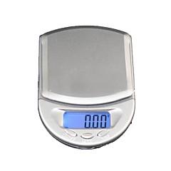 Escala de 500g x 0.1g LCD Jóias Digital Pocket