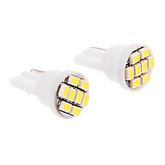 T10 Car Cold White SMD LED 6000 Instrument Light License Plate Light Turn Signal Light Brake Light
