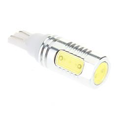 T10 6W de alta potência 6000K fresco lâmpada LED de luz branca para carro (DC 12V, 1 pcs)