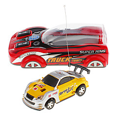 Mini RC Car Racing Światłem (losowy kolor)