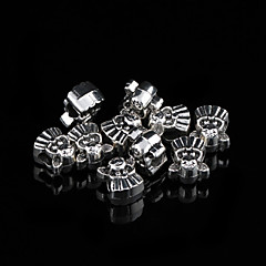 Sweet Animal Silver Alloy Charms 20Pcs/Bag (Silver)
