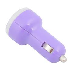 Doppel-USB-Auto-Adapter für den Zigarettenanzünder-Ladegerät für Autos (DC 12-24V 1A 2.1A)