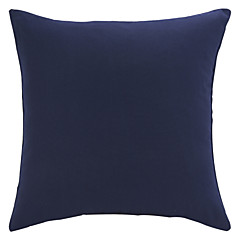 Cotton Pillow Cover , Solid Traditional/Classic