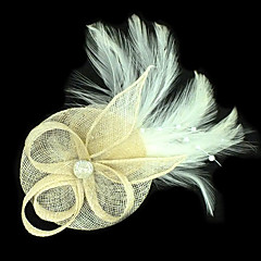 Feather Facinators Wedding Headpieces