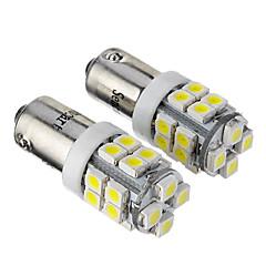 BA9S T4W 53 57 182 W6W 1.2W 84LM 20x3528SMD 6000-6500K refrescan la lámpara LED de luz blanca para coche (12V, 2 unidades)