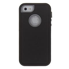 For iPhone 5 Case Shockproof Case Full Body Case Armor Hard PCiPhone 7 Plus / iPhone 7 / iPhone 6s Plus/6 Plus / iPhone 6s/6 / iPhone