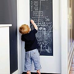 초크보드 벽 스티커 칠판 벽스티커 데코레이티브 월 스티커,비닐 자료 이동가능 재부착가능 물 세탁 가능 홈 장식 벽 데칼