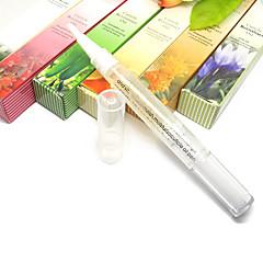 2PCS Nail Cuticle Revitaliaer Fruity Olie til Nail Behandling (tilfældig farve)
