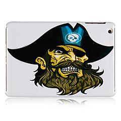 piraat patroon plastic achterkant van de behuizing voor de iPad mini 3, ipad mini 2, ipad mini