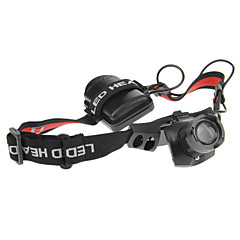 Headlamps LED 3 Mode 240 Lumens Adjustable Focus / Tactical / Self-Defense Cree XR-E Q5 AAACamping/Hiking/Caving / Everyday Use / Cycling