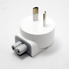 Slim AU AC Plug for Macbook Air Pro (White)