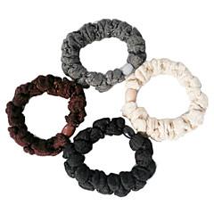 Fashion πολύχρωμα λαστιχάκια για τα μαλλιά ύφασμα για τις γυναίκες (μαύρο, χακί και άλλα)