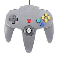 Wired Joystick Video Game Controller Nintendo 64 (musta)