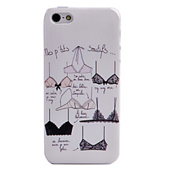 Sexy Bra Pattern Back Case for iPhone 5/5S