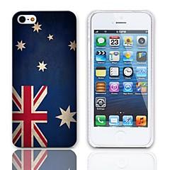 Vintage The Australian Design Drapeau Hard Case avec protection d'écran 3-Pack pour iPhone 5/5S