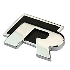 RT metal R Etiqueta