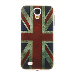UK Flag Pattern plast beskyttende hårdt Back Case Cover til Samsung Galaxy S4 I9500
