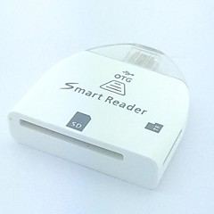 Multi-in-1 SD / MMC / TF Card Reader voor Samsung Galaxy i9100 / i9220 / i9300 / N7100