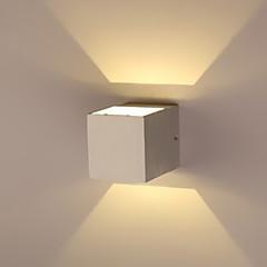 AC 85-265 1 LED Zintegrowane Modern / Contemporary Galwanizowany Cecha for LED Zawiera żarówkę,Światło rozproszone Światło ścienne