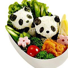 DIY 3D Panda Baby Rice Ball Mold