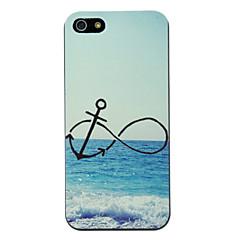 Anchor In Beach Padrão Hard Case para iPhone 5/5S PC